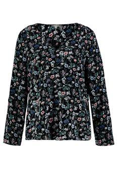 TOM TAILOR DENIM - Bluzka z długim rękawem - czarny