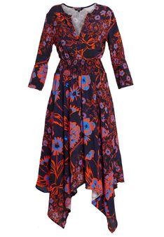 Desigual - Sukienka letnia - wielokolorowy