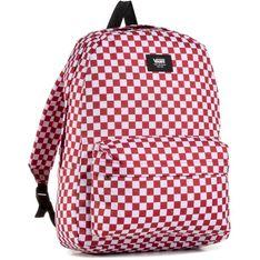 Plecak VANS - Old Skool III B Chilli Pepper Checkerboard