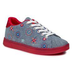 Sneakersy DESIGUAL - Cosmic Julieta Denim 21SSKD06 5006