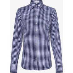 Koszula damska Brookshire niebieska z kołnierzykiem