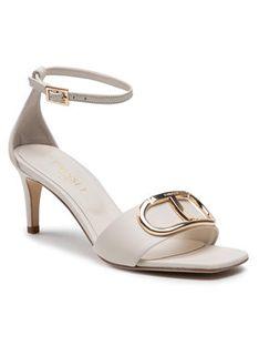 TWINSET Sandały 211TCT016 Beżowy