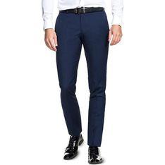 Spodnie męskie Giacomo Conti niebieski