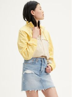 Levi's® Spódnica jeansowa Deconstructured 77882-0015 Niebieski Regular Fit