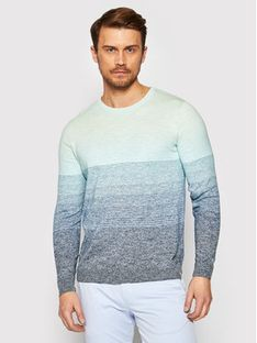 Jack&Jones Sweter Laguna 12188210 Niebieski Regular Fit