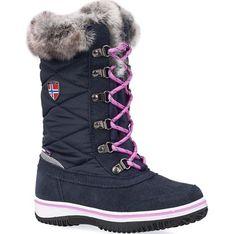 Buty zimowe dziecięce Trollkids sznurowane