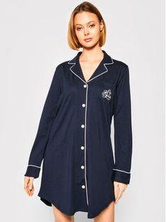 Lauren Ralph Lauren Koszulka piżamowa I811950 Granatowy Regular Fit