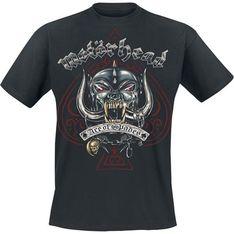 T-shirt męski Motörhead bawełniany młodzieżowy z krótkim rękawem