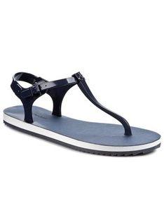 Calvin Klein Jeans Sandały Savanna Jelly RE9248 Niebieski