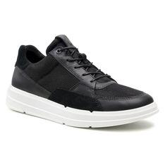 Sneakersy ECCO - Soft X M 42054451094  Black/Black/Black