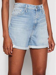 Calvin Klein Jeans Szorty jeansowe J20J215892 Niebieski Mom Fit