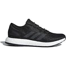 Buty sportowe damskie Adidas do biegania na koturnie na lato wiązane bez wzorów