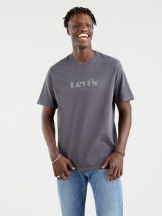 "Levi's ""Relaxed Fit Tee"" Ssnl Mv Logo Garment Dye"