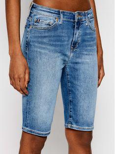 Tommy Hilfiger Szorty jeansowe Flex Venice WW0WW30528 Granatowy Slim Fit