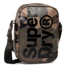 Saszetka SUPERDRY - Side Bag M9100022A  Green Camo Tarp 0VM
