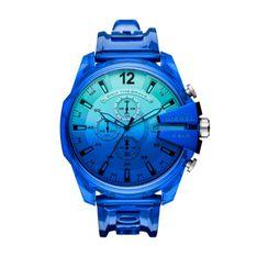 Zegarek DIESEL - Mega Chief DZ4531 Blue/Blue
