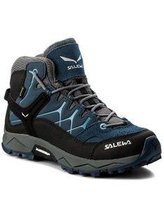 Salewa Trekkingi Alp Trainer Mid Gtx GORE-TEX 64006-0365 Granatowy
