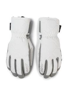 Ziener Rękawice narciarskie Krisa As (R) Aw Lady Glove 191107 Biały