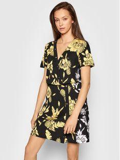 Liu Jo Sport Sukienka codzienna TA1121 J6182 Czarny Regular Fit