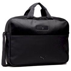 Torba na laptopa PUMA - Ferrari Style Reporter 077332 01 Puma Black