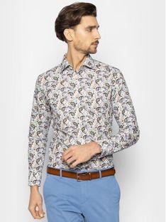 Eton Koszula 100000739 Kolorowy Slim Fit