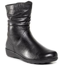 Botki CAPRICE - 9-26406-25  Black Nappa 022