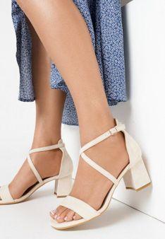 Beżowe Sandały Sabeosis