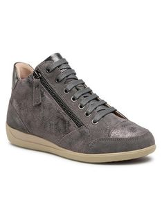 Geox Sneakersy D Myria D D0468D 0VI22 C9017 Szary
