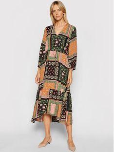 Marella Sukienka codzienna Scozia 32262318 Kolorowy Relaxed Fit