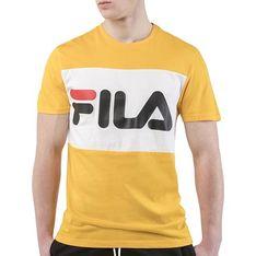 T-shirt męski Fila zolty