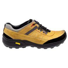 Olivier Męskie buty trekkingowe 274GT zółte żółte