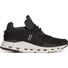On Running buty sportowe damskie czarne płaskie wiązane