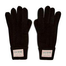 Rękawiczki Męskie GUESS - Not Coordinated Gloves AM8730 WOL02 BLA