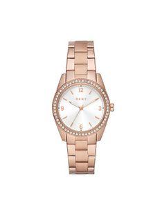 DKNY Zegarek Nolita NY2902 Różowy