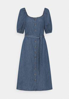 ONLY - Sukienka jeansowa - granatowy