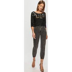 Sweter damski Guess z okrągłym dekoltem