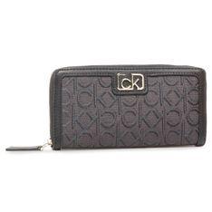 Duży Portfel Damski CALVIN KLEIN - Z/A Wallet Lg J K60K607096 0GS