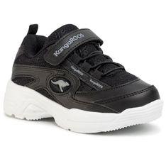 Sneakersy KANGAROOS - Kc-Chunky Ev 18469 000 5003 Jet Black/Steel Grey