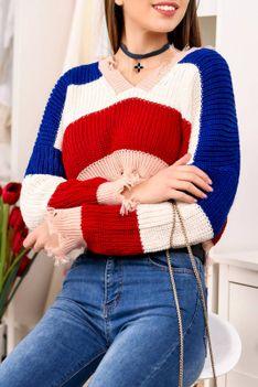 Sweter damski DIDIRA BLUE