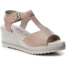 Sandały damskie Carmela bezowy