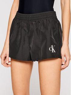 Calvin Klein Swimwear Szorty plażowe KW0KW01364 Czarny Regular Fit