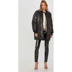 Kurtka damska Trussardi Jeans ze skóry ekologicznej