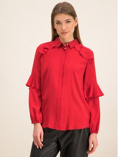 iBlues Koszula 71161096 Różowy Regular Fit