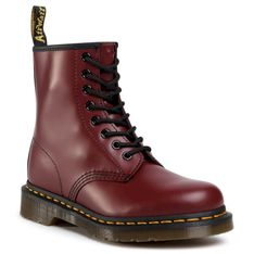 Glany DR. MARTENS - 1460 Smooth 11822600 Cherry Red
