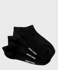 3-pak czarnych skarpet damskich