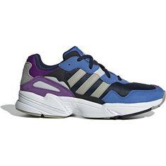 Buty sportowe damskie Adidas do fitnessu zamszowe wiązane płaskie