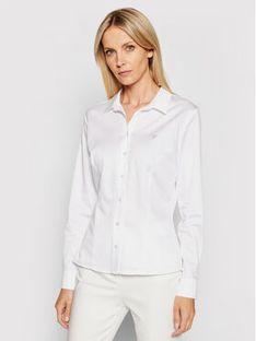 Guess Koszula Cate W1RH41 WAF10 Biały Slim Fit