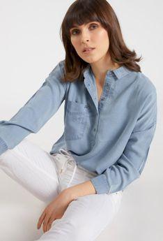Pastelowa koszula damska