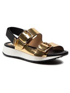 Loriblu Sandały 1E XMI110 Złoty