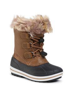 CMP Śniegowce Kids Anthilian Snow Boot Wp 30Q4594 Brązowy